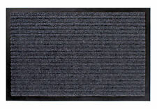 Schmutzfangmatte grau - 80x120 cm - Fußmatte Fußabtreter Türmatte Fußabstreifer