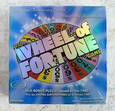 New Wheel Of Fortune Game 25th Silver Anniversary Edition Sealed