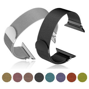 Milanese Loop Band iwatch Strap For Apple Watch Series 7 6 5 4 3 2 1 SE 38-45mm