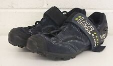Lake High-Quality Blue Suede Cycling Bike Shoes EU 39 US Men's 5.5-6 GREAT LOOK