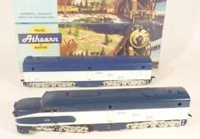 2 x ATHEARN HO gauge ALCO LOCOMOTIVES - PA1/PB1- NICKEL PLATE - 3310/50 BOXED