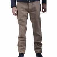 ARMANI COLLEZIONI SCPJ15 SCS01 Mens Chino Trousers Regular Fit Casual Pants