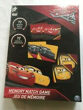 Disney Pixar Cars Memory Match Game - NIB