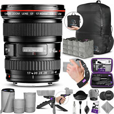 Canon EF 17-40mm F/4L USM Ultra Wide Angle Zoom Lens with Essential Bundle