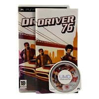 Driver '76 (Sony PSP, 2007) Video Game, Region 1, Racing, CIB, Complete