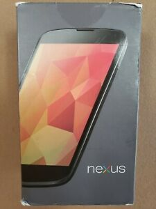 LG Nexus 4 E960 Phone 8 GB GSM Unlocked Black Brand New Sealed
