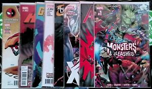Monsters Unleashed! #1 + Tie-Ins 2017 Marvel X-Men Avengers Spider-Man Deadpool