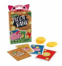 Hoyle Piggy Bank Children Kids Playing Card Game Childrens Counting Game