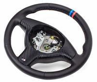 Volant Cuir Volant en Cuir BMW E46, E39, Z3 M Volant Avec Couverture 3 Courroie