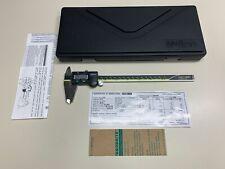 "MITUTOYO Absolute AOS Digital Caliper CD-8"" ASX 500-197-30 w/ Stow Case NICE"