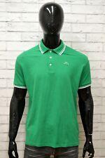 Polo KAPPA Uomo Taglia XXL Maglia Maglietta Camicia Shirt Man Manica Corta Verde