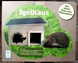 Igel Igelhaus  Igelhütte Igel Überwintern für Igel, neu, originalverpackt