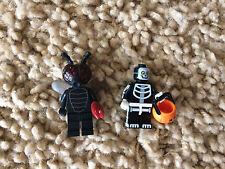 Lego Monster Skeleton Fly Winged Minifigure Lot Jack o latern 71010 Series 14