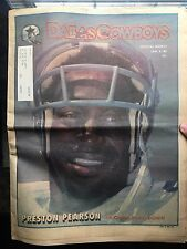 """"""".NFL Dallas Cowboys Official Weekly Magazine January, 5, 1980; Vol. 5, No. 30"""