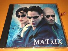 THE MATRIX 1 soundtrack CD score DON DAVIS laurence fishburne KEANU REEVES vsd