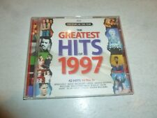 THE GREATEST HITS OF 1997 - 42-Track 2 DISC CD Album