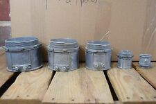 "Lot of 130 Assorted Set Screw Couplings: 1"", 1 1/4"", 2.5"", 3"" & 3.5"""