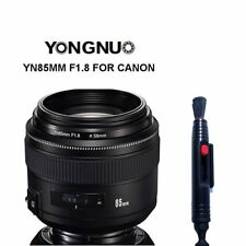 Yongnuo YN85MM F1.8 AF/MF Medium Prime Fixed Telephoto Lens for Canon 600D 7D US