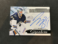 2015-16 UPPER DECK PREMIER JAKE ALLEN SIGNATURE AUTO SILVER #PS-JA