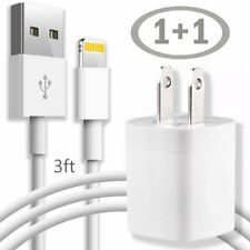 USB Lightning Charger & Data Sync Cable For Apple iPhone X 7 6 5 Plus Adaptor 1M