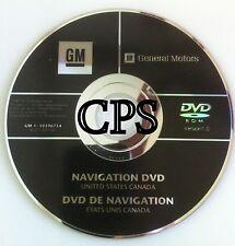 2007 2008 2009 Cadillac Escalade / ESV / EXT / Hybrid GPS Navigation DVD Map U.S