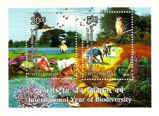 India 2010 MNH SS, Int. Year of Biodiversity, Owl, Birds, Environment (Z1n)