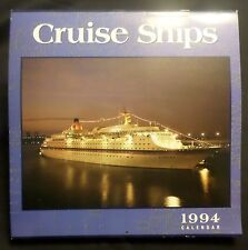 1994 Cruise Ship Calendar . NM . Hapag Lloyd ms Europa & Others Goldfinger Cedco