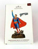 2019 Hallmark Christopher Reeve As Superman Keepsake Ornament