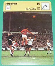 FOOTBALL COUPE DU MONDE 1966 ANGLETERRE ENGLAND RFA BRD GEOFF HURST FINALE