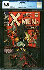 X-Men #20 CGC 6.5 -- 1966 -- Lucifer, Blob, Magneto Prof X Leg Story #1266291008