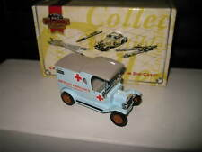 1/43 MATCHBOX COLLECTIBLE 1912 FORD MODEL T AMERICAN AMBULANCE SERVICE YYM38057