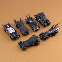 6PCS 1:64 Alloy Batman Car Model Diecast Batmobile Movie Style Batman Fans Gift