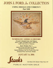 2006 Stack's Catalog John J. Ford, Jr. Collection - Coins, Medals, Currency Part