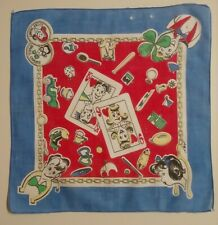 Lucky Penny & Small Change Vintage Handkerchief by T.E.L