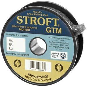 STROFT GTM 200 m Monofile Angelschnur 0.08 mm bis 0.40 mm Blaugrau transparent