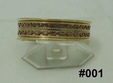 Mixed Materials Brass Handcrafted Bracelets