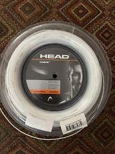 Head Hawk 16G  1.30 Mm Tennis String Reel White (white) - Approx 220ft