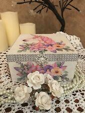 Unicorn Jewellery Box Magical Sparkly Pretty Girls Jewellery Box FREE necklace