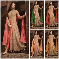 Kameez Salwar Suit Anarkali Indian Designer Pakistani Dress Wear Party Fm L S