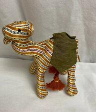 "AL Burgan plush camel stuffed animal crafted in Jordan  7"""