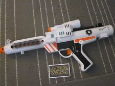 Star Wars Star Tours Stormtrooper White Blaster Gun Disney NON working Prop1996