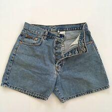 Vintage Women's Calvin Klein Shorts Denim Button Fly Stonewash USA Made Size 9