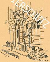 Köln - Nach dem Bombenangriff - Eingang der Dresdner Bank - um 1945     W 39-34