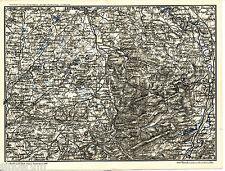 Saulgau Waldsee Leutkirch 1910 kilolitr. cartes (5) + reisef. (9 S) Isny Aichstetten