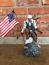 2012 Assassin's Creed III 3 Connor Figure Statue w/ FLAG Limited Edition Ubisoft