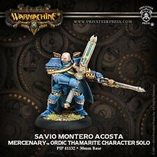 Warmachine Mercenaries Savio Montero Acosta Ordic Thamarite PIP 41132 NEW