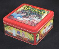 1992 Crayola Christmas Tin. MADE IN U.S.A.!!!! New/Old Stock