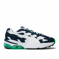 Mens Puma Cell Alien Og Trainers In Peacoat / Classic Green