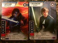 Star Wars: Destiny - Darth Vader and Luke Skywalker Full Art Promos