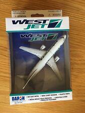 Westjet Airlines Boeing 737 Druckguss Metall Modellflugzeug Spaß Spielzeug